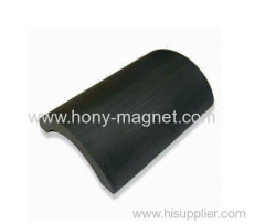 High performance arc bonded segment magnet