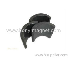 Black epoxy coated neodymium magnets for motor