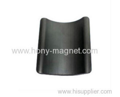 Black epoxy coating permanent arc nd magnet