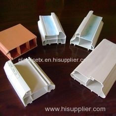 Virgin ABS Plastic Extrusion Profiles / extruded shapes for door / window