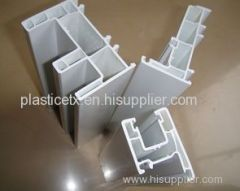decoration PVC plastic extruded profiles for building Construction industry
