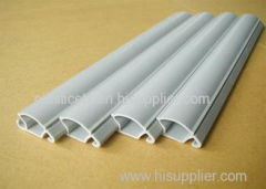 Various Shapes Environmental Friendly Plastic Extrusion Profile for Refrigerator frame