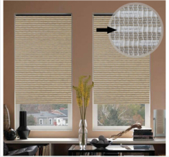 28MM/38MM 100% Polyester fabric Manual blackout roller window shades