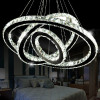 Luxurious creative round living room crystal lights for sale