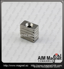 Strong rectangular neodymium magnet for curtain