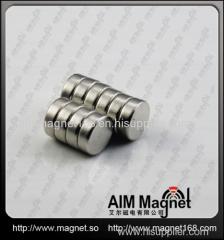 Strong d10 x 6mm disc neodymium magnet