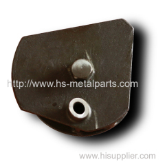 Trailer rotation axis parts