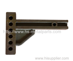Round rotation axis Parts for trailer