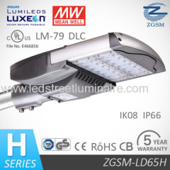 Timer Control 65W LED Street Light hot