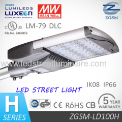 Timer Control 100W LED Street Light hot