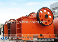 High effeciency newest style big stone-to-sand jaw crusher