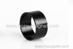 Bonded ndfeb magnetic o-ring
