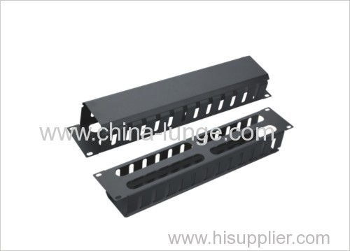 "19"" 2U plastic horizontal cable nanagement"