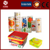 Therma transfer film for cracker box/cookie box