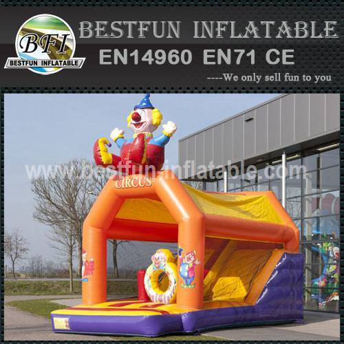 New style cheap inflatable bouncy slide