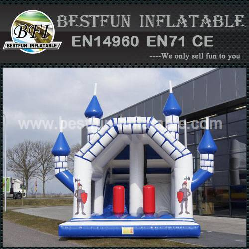 Mini inflatable bouncy slide
