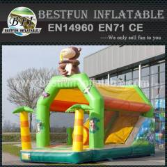 Modern inflatable bouncy slide