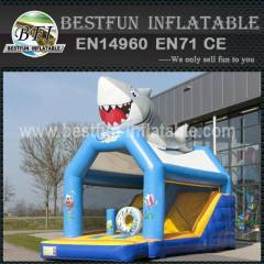New design inflatable bouncy slide