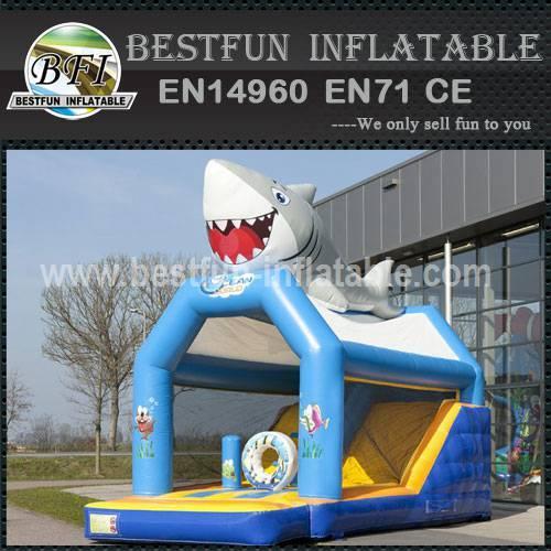 New design inflatable bouncy slide