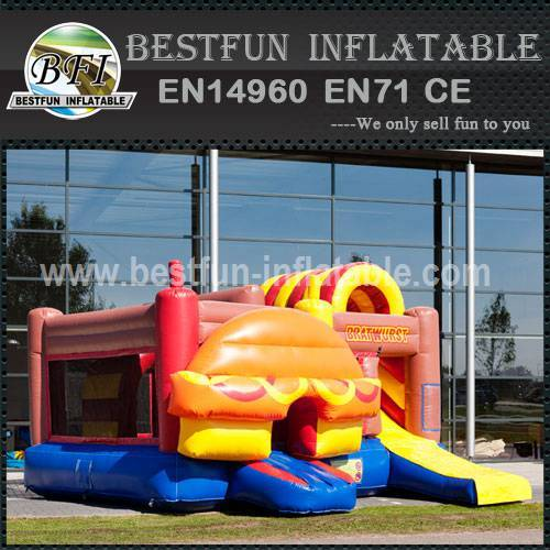 New style kid inflatable bouncy slide