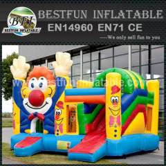 Wonderful inflatable bouncy slide