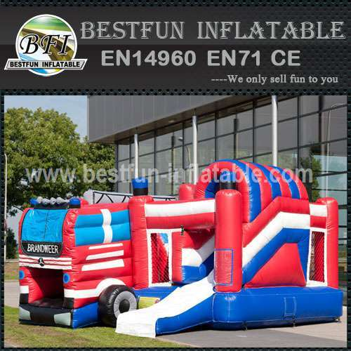 Theme inflatable bouncy slide