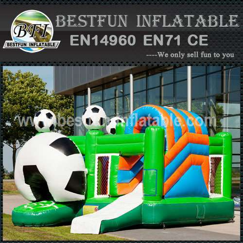 Sports inflatable bouncy slide