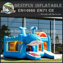 Popular inflatable bouncy slide