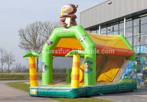 Bouncy castle Combo Jungle