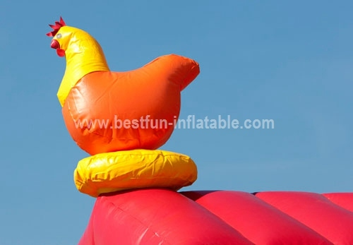 Bouncy castle multiplay cow