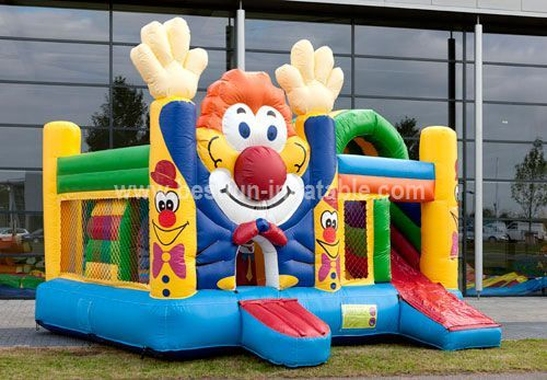 Inflatable Multiplay Clown Combo