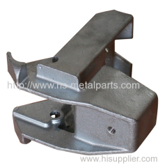 Investment casting parts hot galvanizing finished