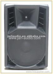 professional 15inch plastic active speaker