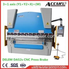 3mm thickness 5000mm length steel sheet plate hydraulic bending machine 125T