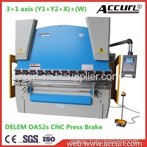 3mm Thick Aluminium Plate Estun E21 NC Bending Machine