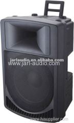 12inch portable plastic active speakers/mould audio