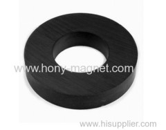 Bonded ndfeb radially oriented ring magnet