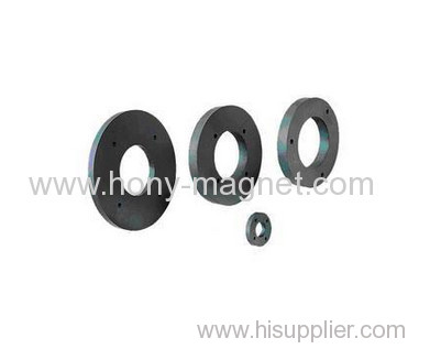 Bonded neodymium radially oriented ring magnet