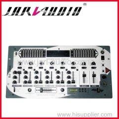 dual EQ audio mixer /pro 6channel studio mixer console