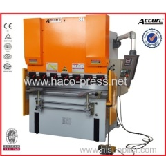 WC67Y-80T/3200 hydraulic press brake