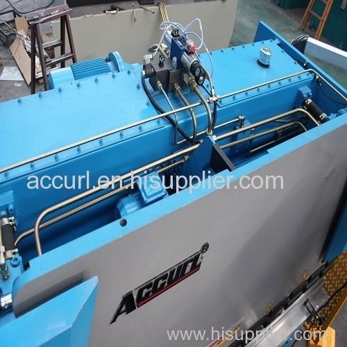 6mm thickness 3200mm length steel sheet plate hydraulic press brake 125T