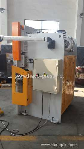 Mild steel hydraulic CNC press brake 80T