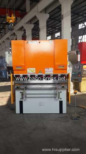 3mm thickness 2500mm length steel sheet plate hydraulic bending machine 63T