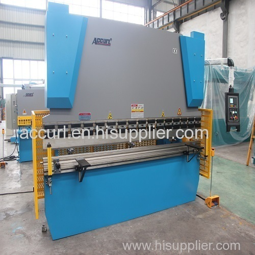 Steel plate hydraulic press brake