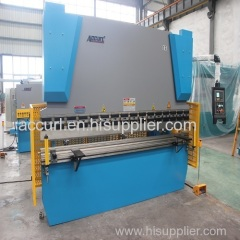 3 mm thick stainless steel E21 NC hydraulic press brake