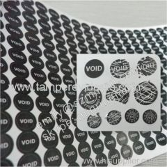 VOID Warranty Fragile Breakaway Screw Cover Stickers
