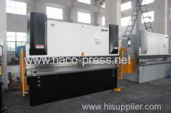 100 tons stainless steel E21 NC sheet bending machine