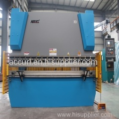 3mm thickness 6000mm length steel sheet plate hydraulic bending machine 125T