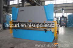 10 mm thick 3200 mm length E21 NC hydraulic bending machine 250 Tons