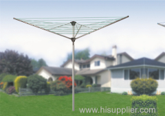 3 arms galvanized steel rotary outdoor airer